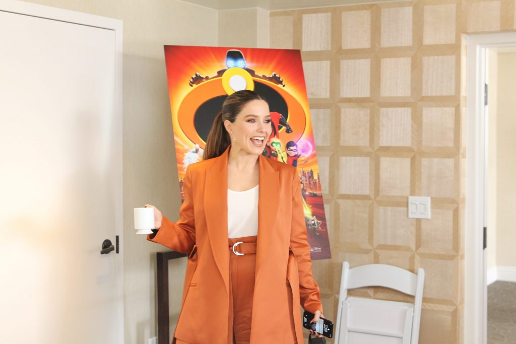 Sophia Bush On Incredibles 2, Activism + 30 Day Challenge