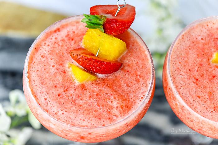 Strawberry Pineapple Margarita