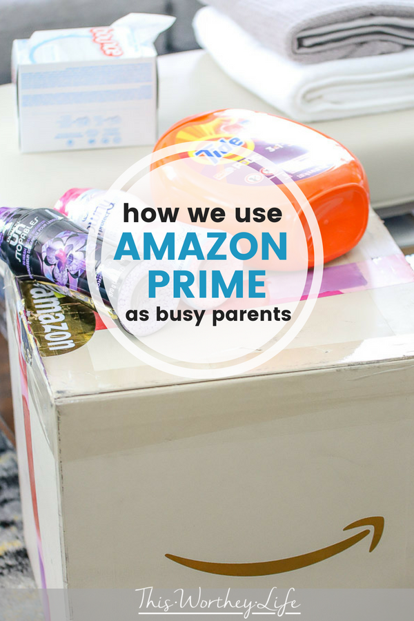 Amazon Prime is a great way to save a ton of time and money. We're sharing our experience as two busy, working parents on how we use amazon prime to help us parent teen boys.