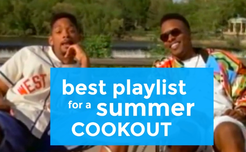 best playlist for a summer cookout
