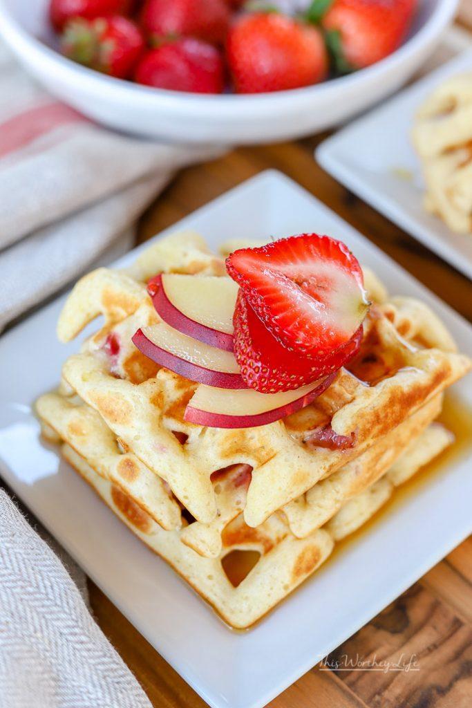 The Best Buttermilk Waffles