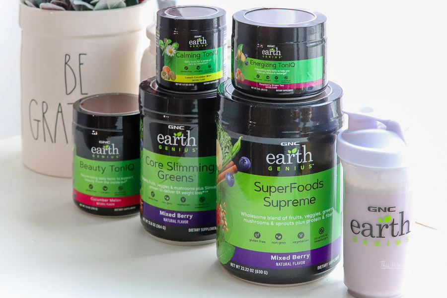 GNC Earth Genius products