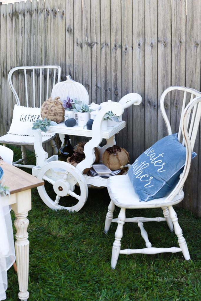 Shabby chic fall ideas