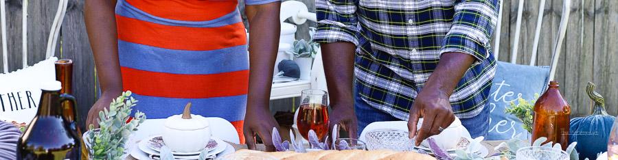 Fall Tablescape   Fall Harvest Party Idea
