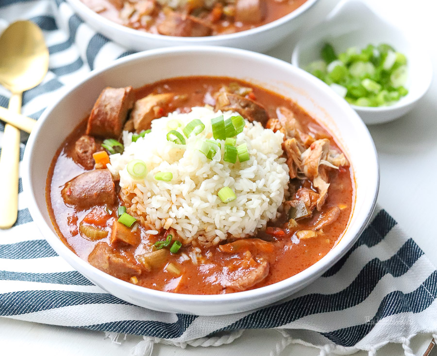 How to make gumbo in the instant pot