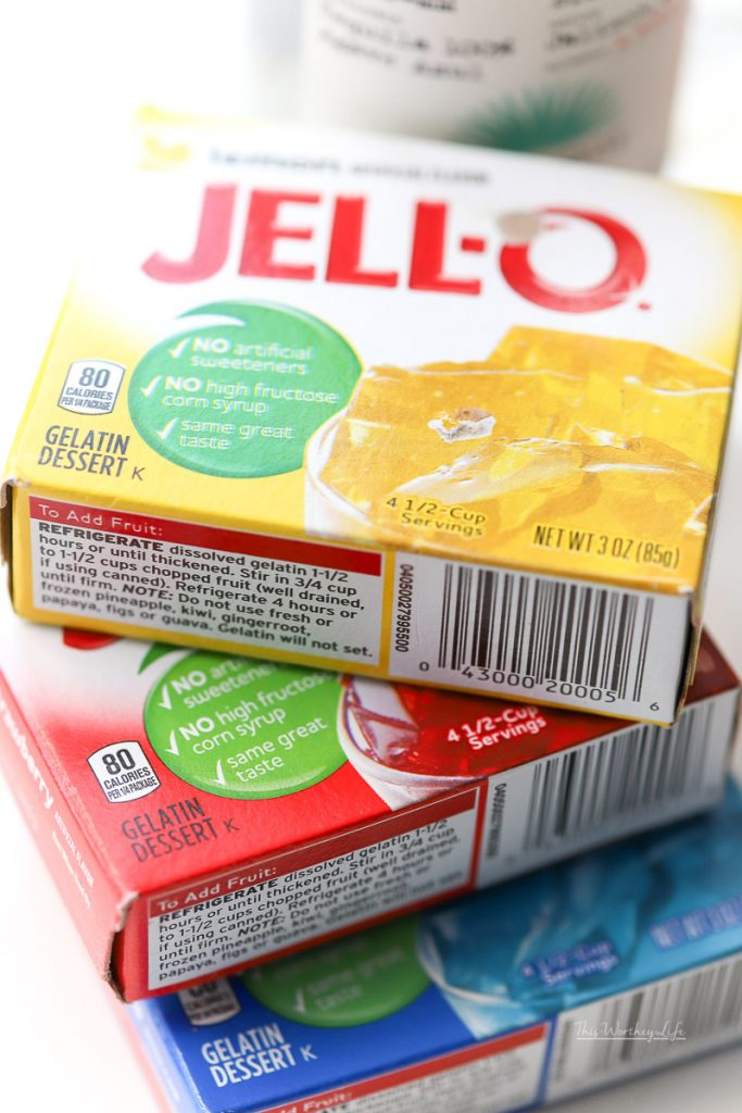 The Best Tasting Jell-O Shots