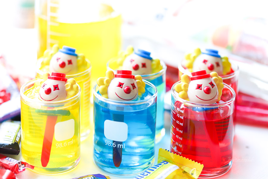 Halloween Clown Jello Shots