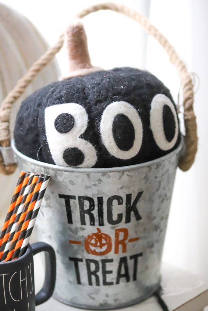 Halloween Party Idea using Rae Dunn decor