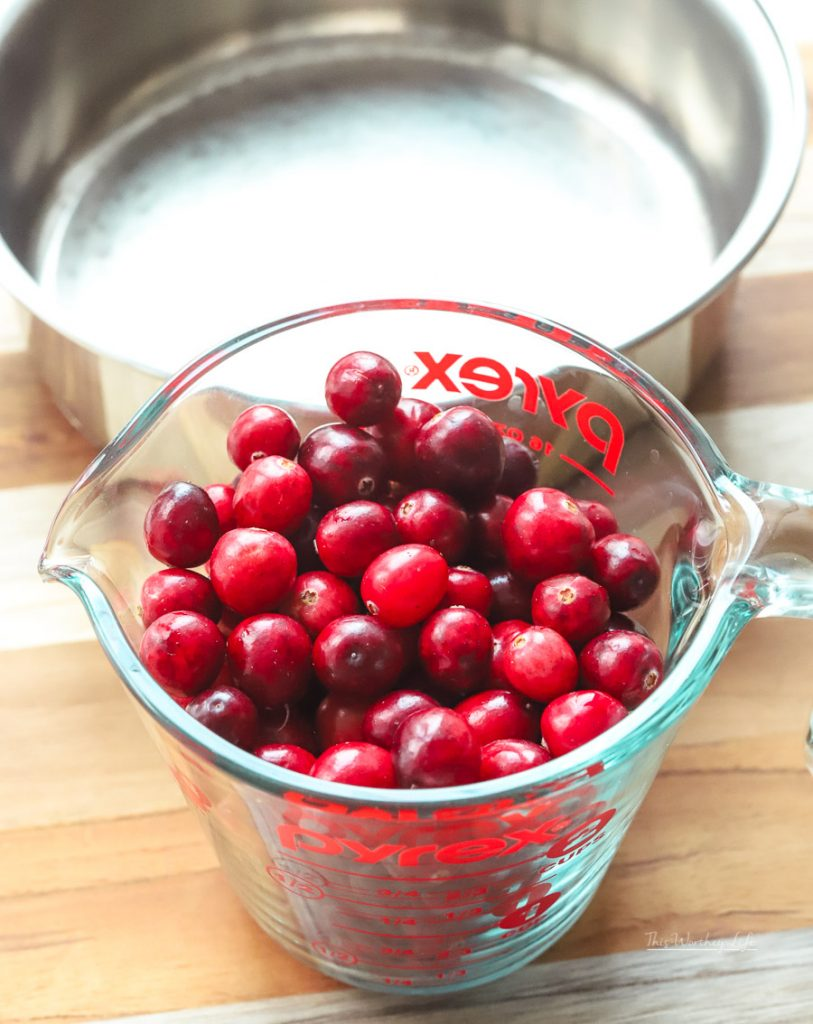 How to make homemade cranberry simple syrup
