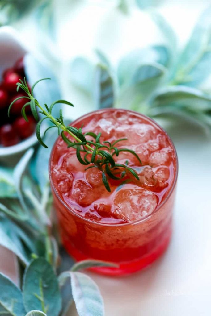 Cranberry Tea Punch