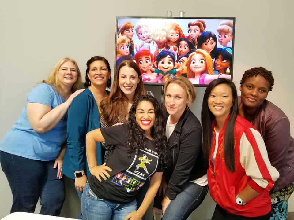 Pamela Ribon, The Genius behind Ralph Breaks the Internet Princess Scene