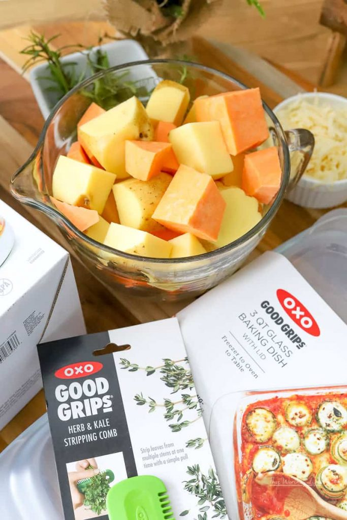 Using OXO products for holiday hacks
