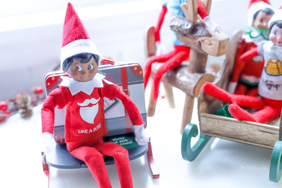 Elf on the Shelf says goodbye