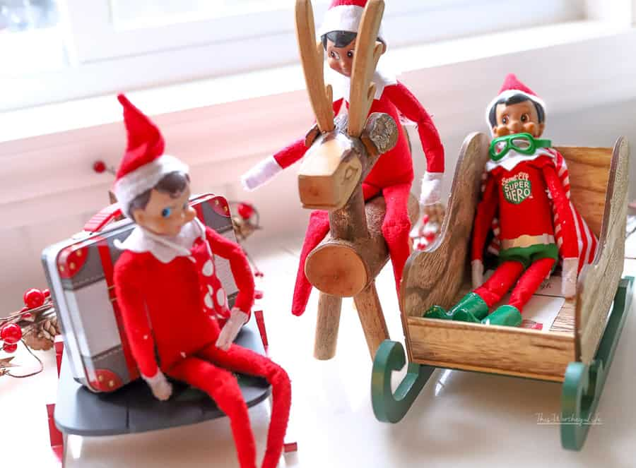 Pop Culture Elf on the Shelf Names