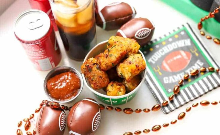 Game Day Recipe | Loaded Chicken Tater Tots Recipe