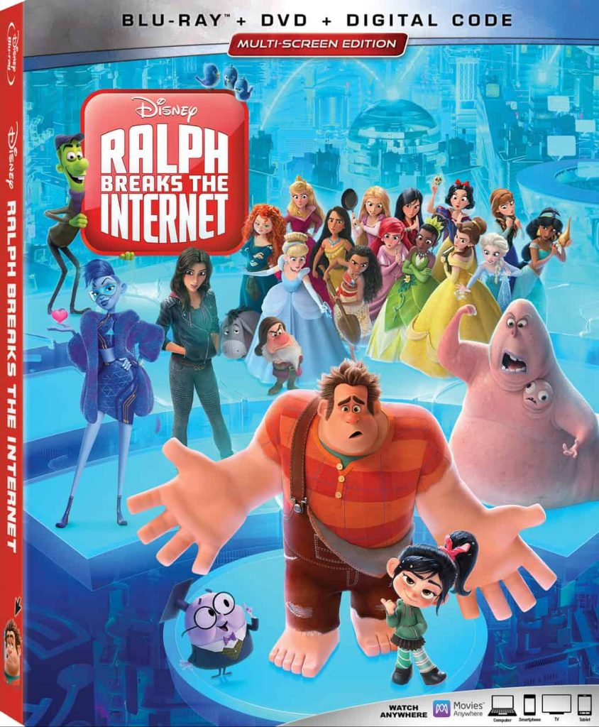 When does Ralph Breaks the Internet come out on DVD