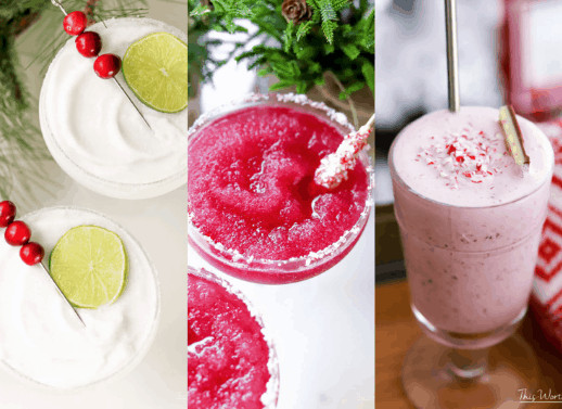 Boozy Holiday Cocktail ideas