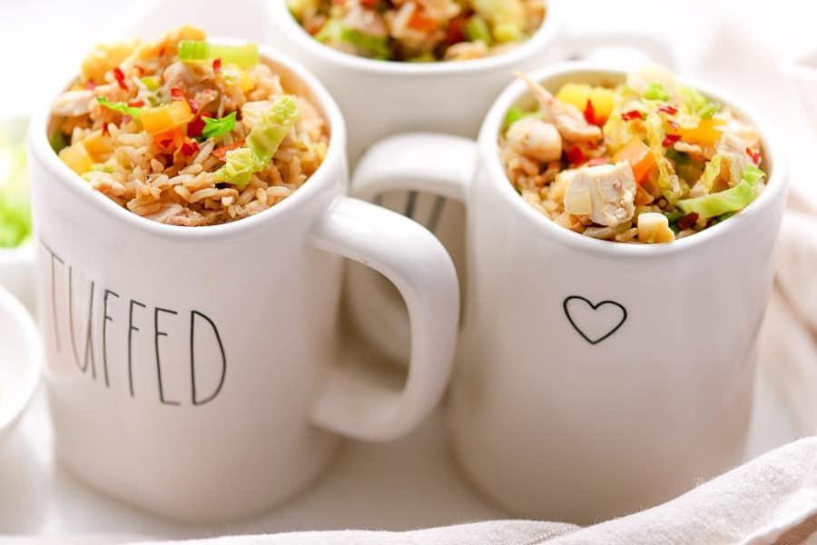 Instant Pot Recipe | Brown Rice Turkey Stir-Fry