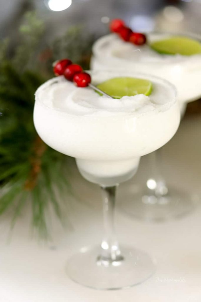 Peppermint everything is always fun to enjoy during the holiday season. And when you add peppermint, tequila, and coconut, you get our Frozen Peppermint Coconut Margarita. Take the edge off this Christmas; we got you.