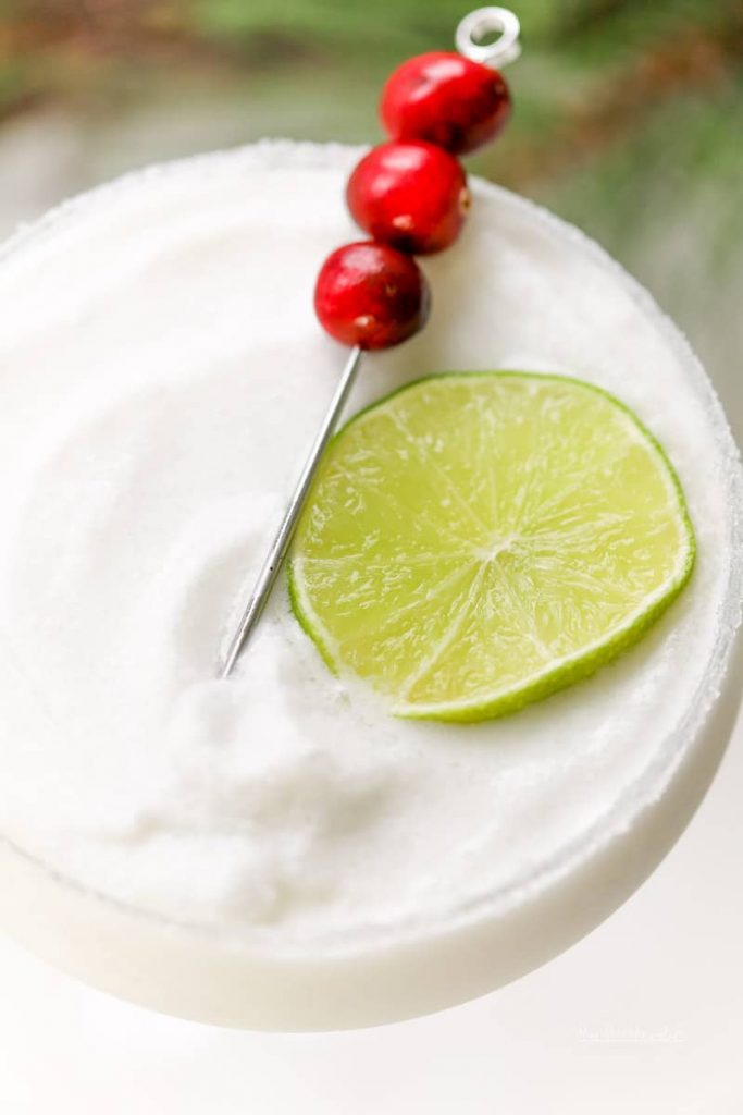 Peppermint everything is always fun to enjoy during the holiday season. And when you add peppermint, tequila, and coconut, you get our Frozen Peppermint Coconut Margarita. Take the edge off this Christmas, we got you