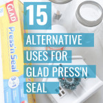 DIYers! Need a solution to keep your paint from going dry? Want a quick way to keep all of your craft supplies organized? I'm sharing how Glad® Press'n Seal® helps me do both of these things, plus a ton of alternative uses for Glad Press'n Seal.