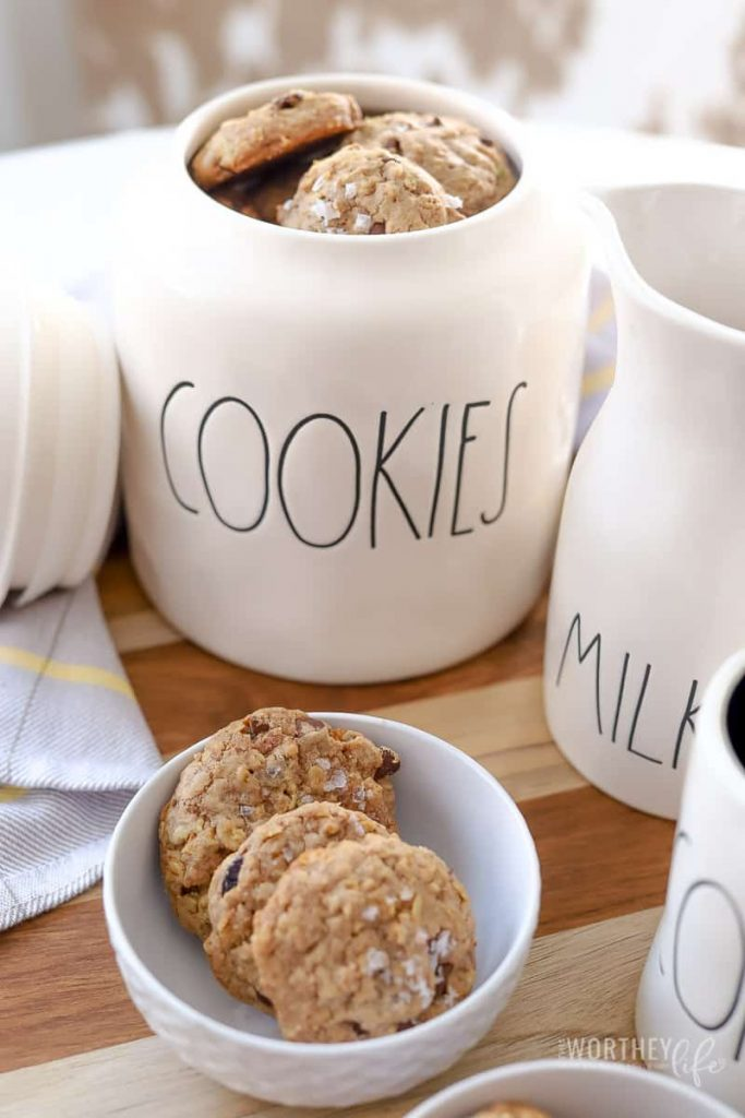 Your homemade chocolate chip cookie recipe just got a whole lot better by adding muesli. Try our recipe for Muesli Chocolate Chip Cookies, along with sea salt, these cookies are a game changer.