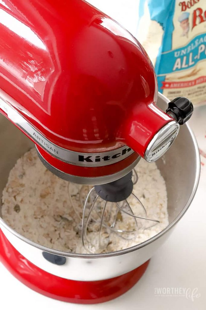 Baking cookies for the holidays