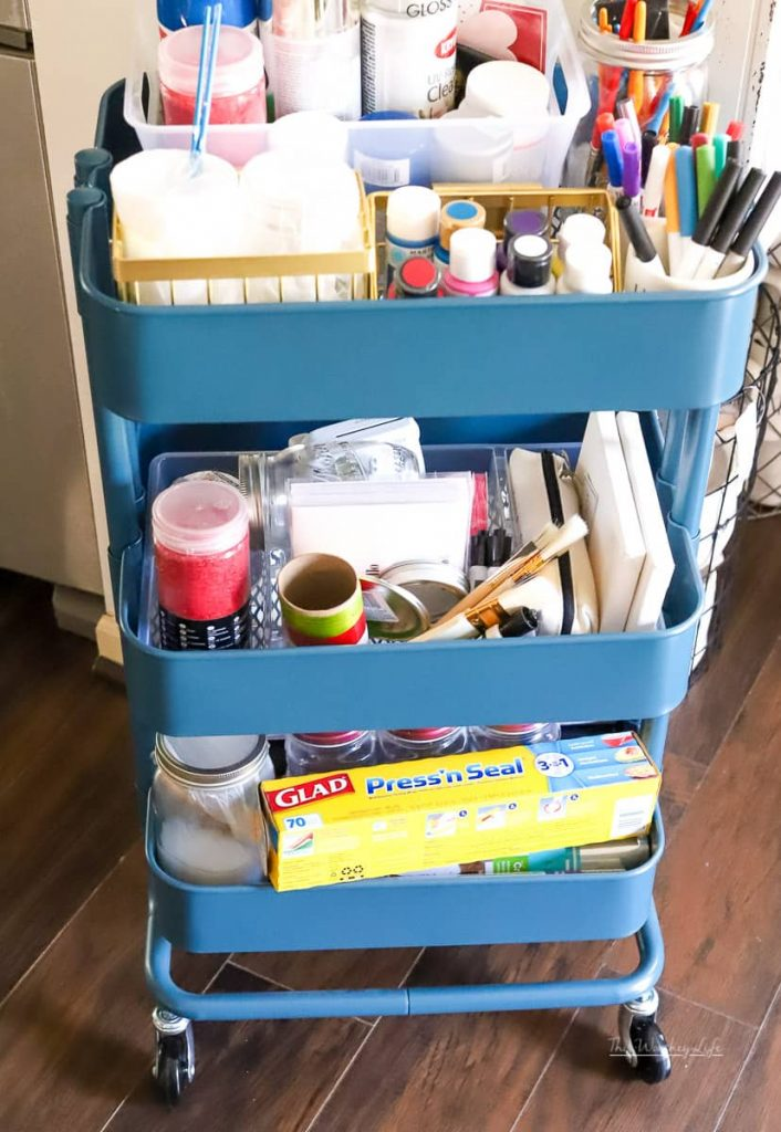 DIY Cart Organization
