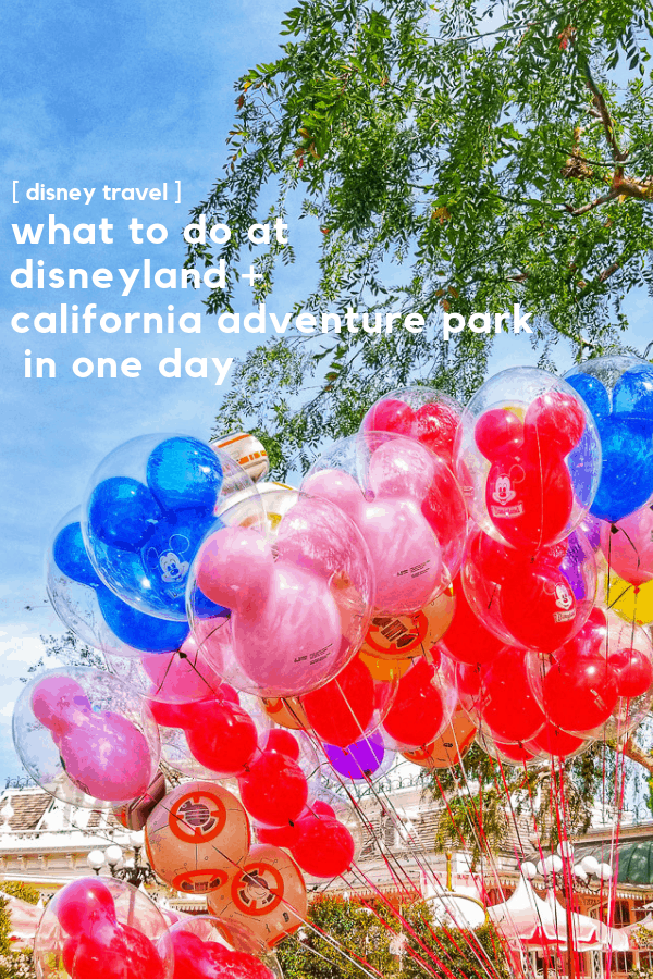 Are you planning a trip to Disney soon? Going to Disneyland in one day is doable, and I'm sharing how we did both parks in the same day. As well as tips on taking teens to Disneyland and their favorite rides and things to do.