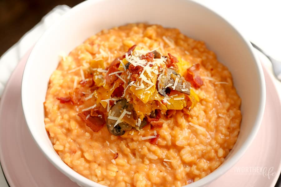 The Cheesiest Risotto Recipe