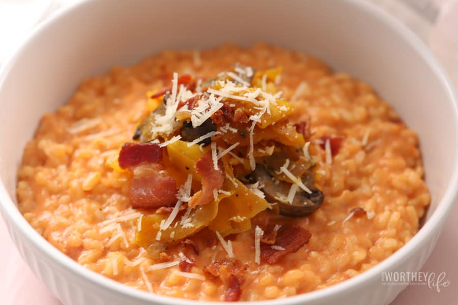 Butternut Squash & Mushrooms Risotto