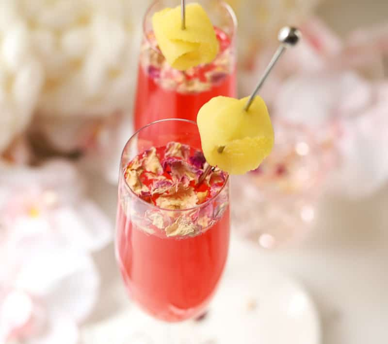 Valentine's Day Mocktail