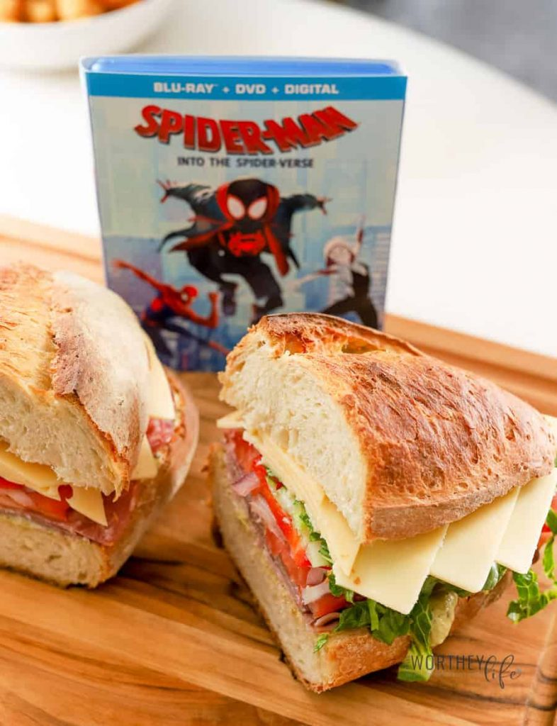 Spider-Verse HERO Sandwich