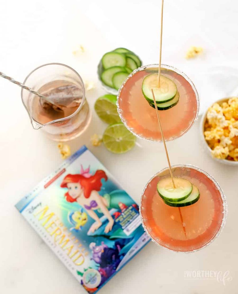 The Little Mermaid Mocktail