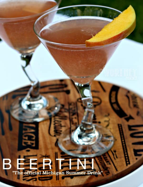 Beertini Recipe With Lemonade & Michigan Products