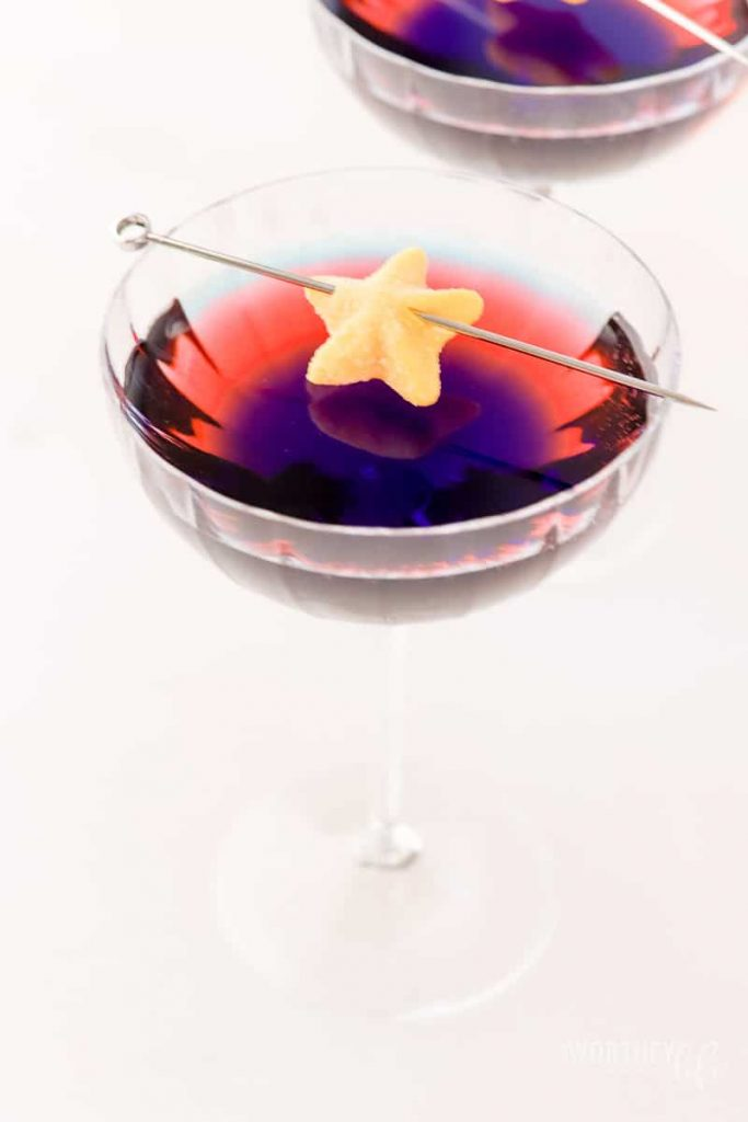 Captain Marvel Star Cocktail