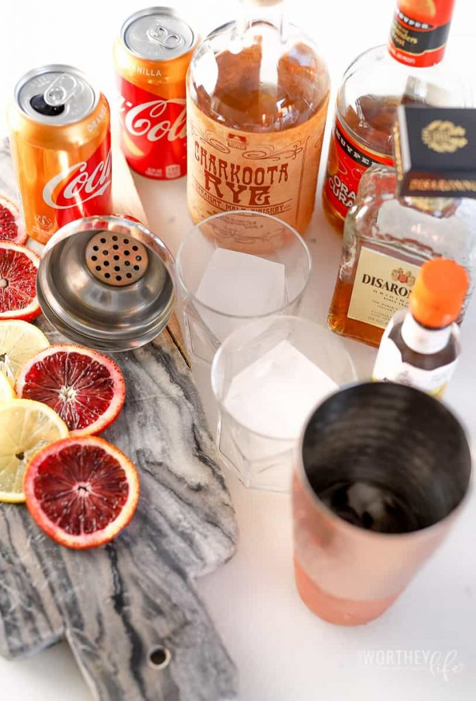 Coca-Cola® Orange Vanilla Cocktail idea