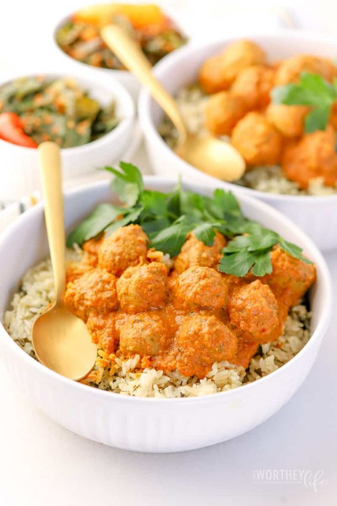 How to make Curry Meatballs in the Instant Pot