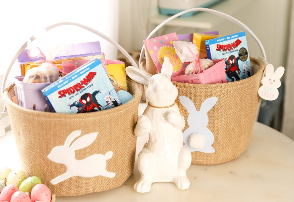 Family Movie Night Gift Basket