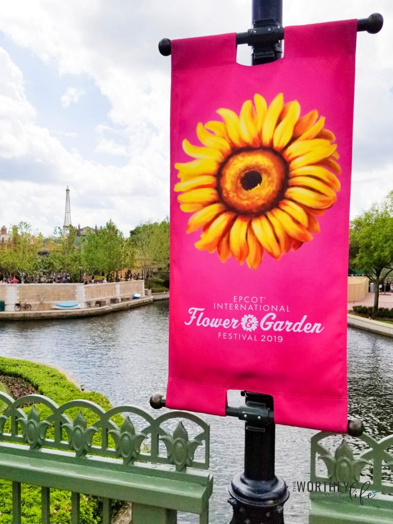 Best food to eat at Epcot's Flower and Garden Festival