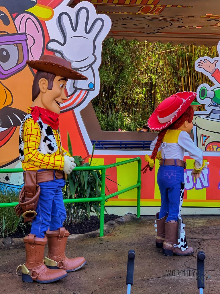 Food in Toy Story Land