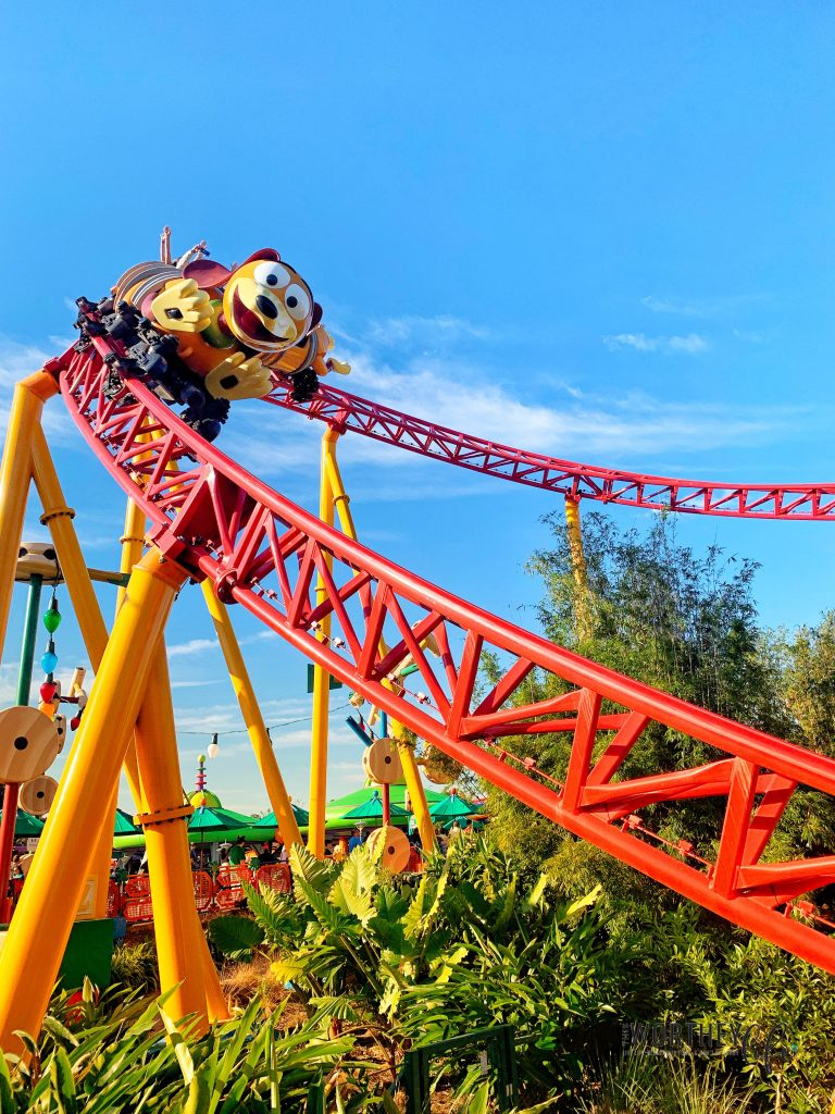 Rides at Toy Story Land