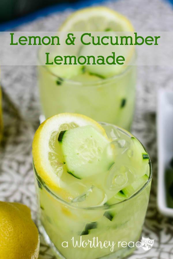 Lemon & Cucumber Lemonade