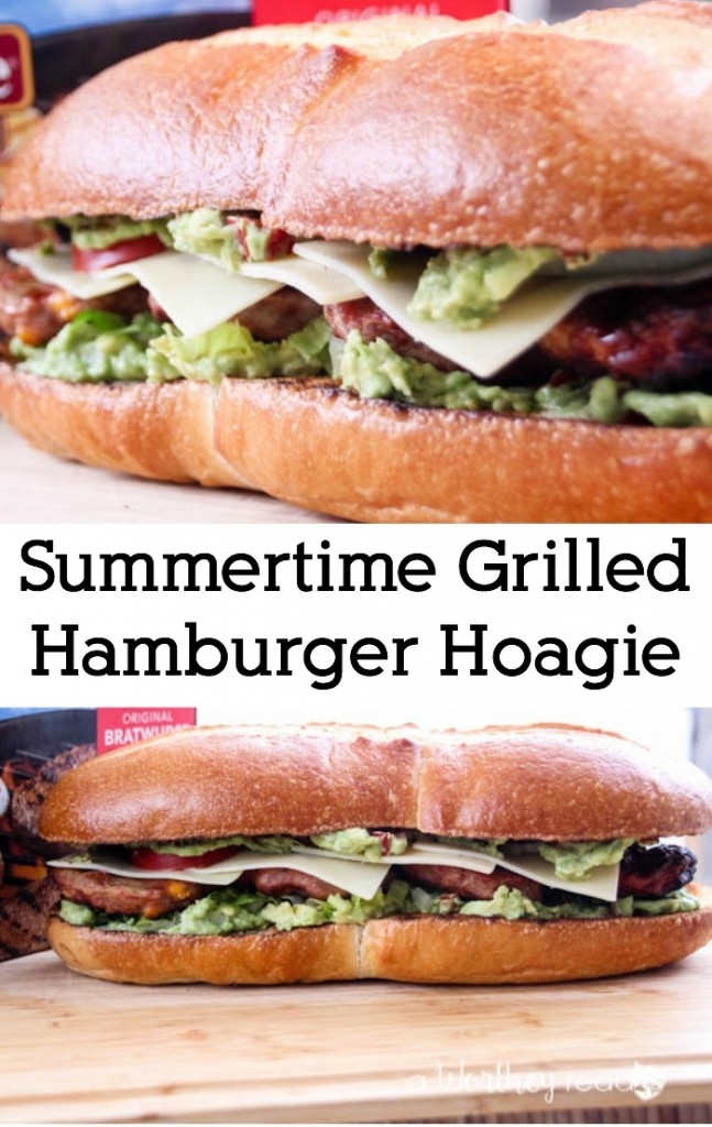 Summertime Grilled Hamburger Hoagie