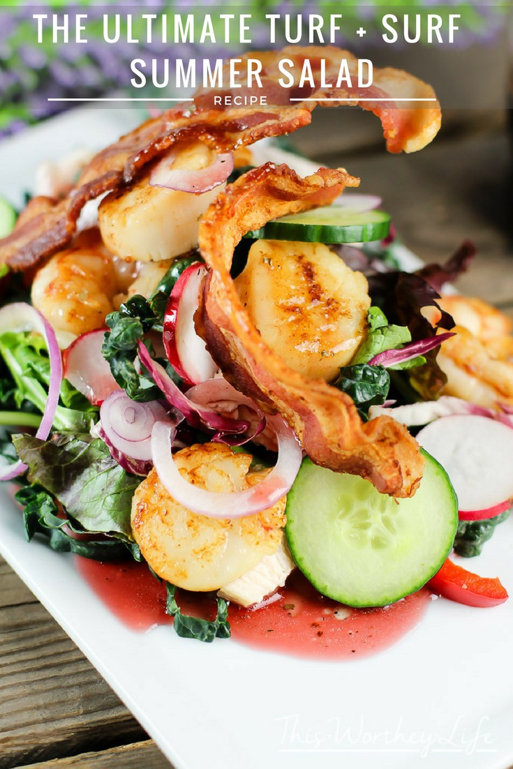 The Ultimate Turf + Surf Summer Salad