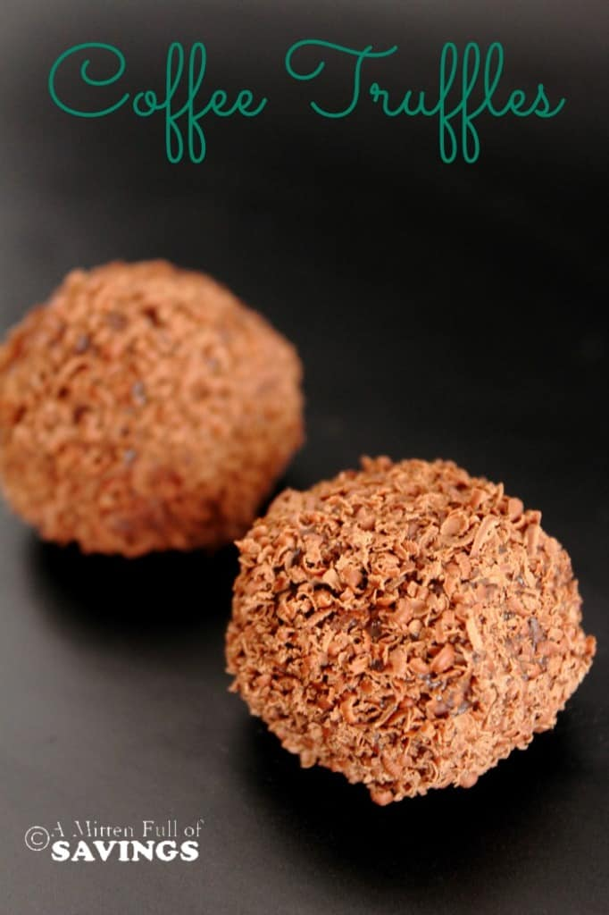 Coffee Chocolate Truffle Balls