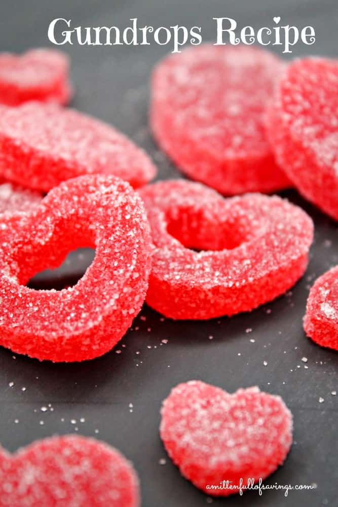 Gumdrops Recipe: great for Valentine's Day