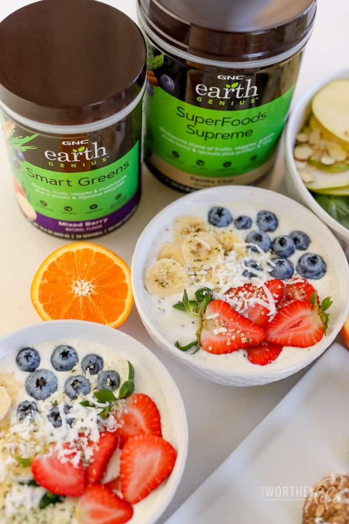 Three Healthy Recipes Incorporating Earth Genius Products