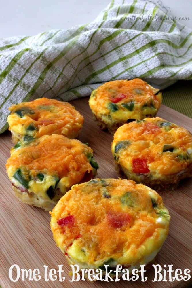 Easy Breakfast Recipe: Omelet Breakfast Bites