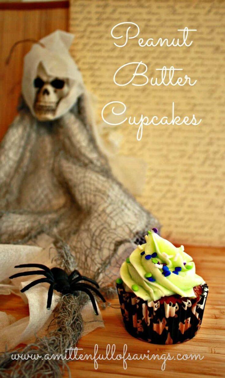 Easy Peanut Butter Cupcakes Recipe